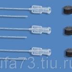 Катетерподключичный одноразовый стерильный (d 0,6; 1,0; 1,4мм)