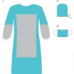 Комплекты одежды для хирургов КХ-3