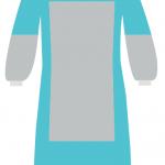 Халаты хирургические с защитой